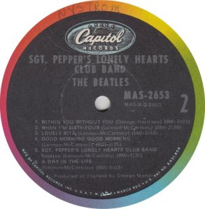 BEATLE LP LABEL 29 ORIG 67_0001