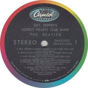 BEATLE LP LABEL 29 ORIG 67_0002
