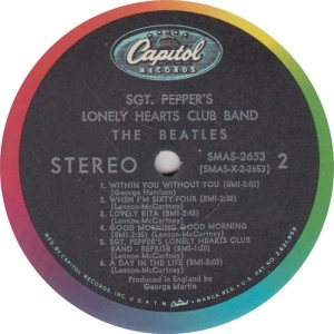BEATLE LP LABEL 29 ORIG 67_0003