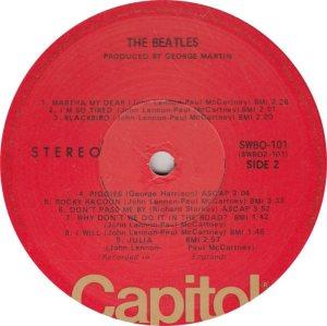 BEATLE LP LABEL 31 - 76 RE_0001
