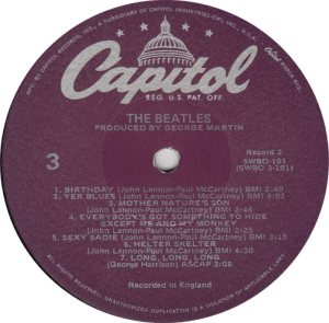 BEATLE LP LABEL 31 - 78_0002