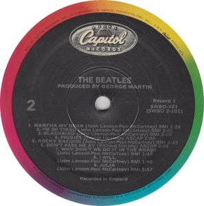 BEATLE LP LABEL 31 - 83_0001