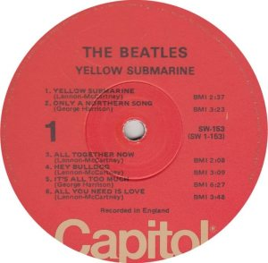 BEATLE LP LABEL 33 76