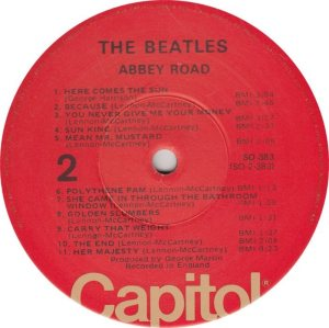 BEATLE LP LABEL 34 76_0001