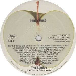 BEATLE LP LABEL 34 89_0001