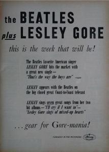 Beatles - 03-64 - Leslie Gore Mania
