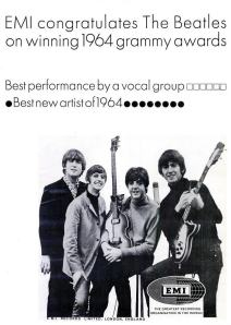 Beatles - 05-65 - 1964 Grammy