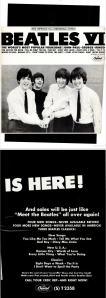 Beatles - 06-65 - Beatles VI is Here