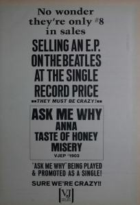 Beatles - 07-64 - Ask My Why EP