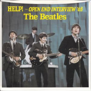 Beatles Help Open End PS F