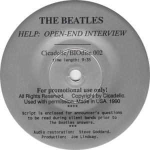 Beatles Help Open Int R 2