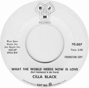 BLACK CILLA - WORLD NEEDS NOW
