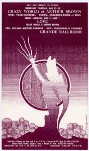 Crazy World of Arthur Brown - Detroit - 5-29-68