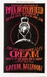 Cream - Detroit - 12-21-67