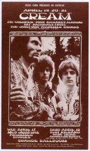 Cream - Detroit - 4-17-68