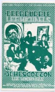 Deep Purple - Detroit - 11-13-68