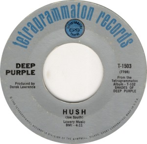 DEEP PURPLE HUSH A