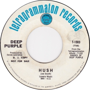 DEEP PURPLE HUSH DJ