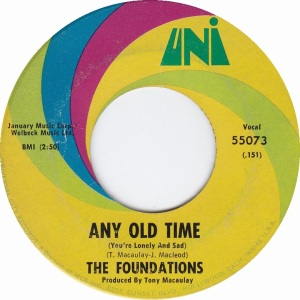 FOUNDATIONS - ANY OLD TIME A