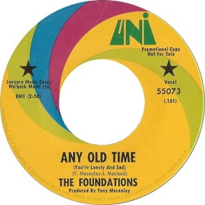 FOUNDATIONS - ANY OLD TIME DJ