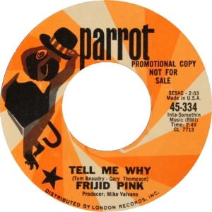 FRIJID PINK - TELL ME DJ