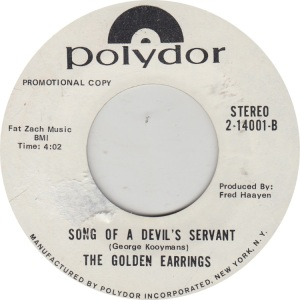 GOLDEN EARRINGS - POLYDOR 14001 DJ A_0001