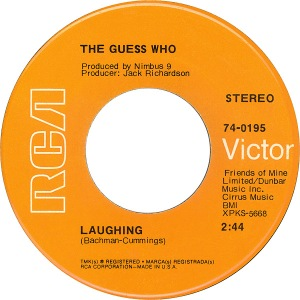 GUESS WHO - LAUGHING A