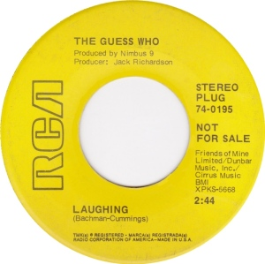 GUESS WHO - LAUGHING DJ