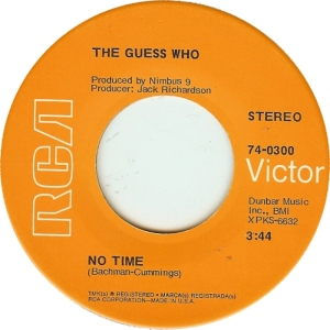 GUESS WHO - NO TIME A