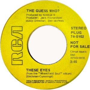 GUESS WHO - THESE EYES DJ