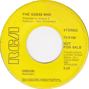 GUESS WHO - UNDONE DJ