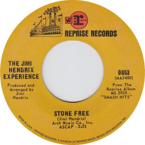HENDRIX EXPERIENCE - STONE FREE A