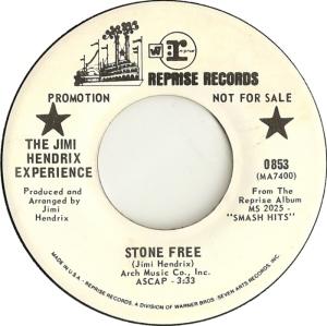 HENDRIX EXPERIENCE - STONE FREE DJ