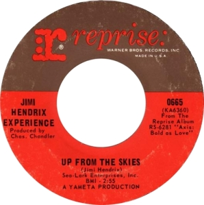 HENDRIX - UP FROM THE SKIES A