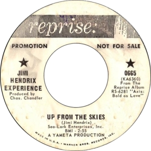 HENDRIX - UP FROM THE SKIES DJ