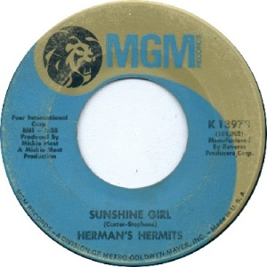 hermans-hermits-sunshine-girl-mgm