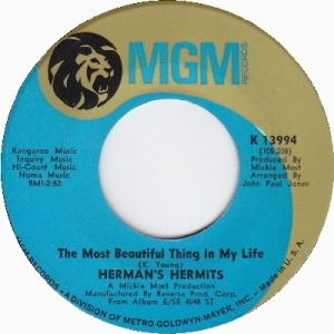 hermans-hermits-the-most-beautiful-thing-in-my-life-1968