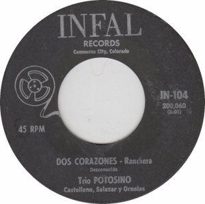 INFAL 104 - TRIO POTOSINO - CORZONES