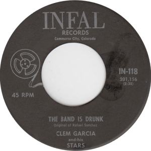 Infal 118 - Garcia, Clem - Band is Drunk