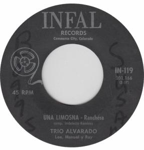 INFAL 119 - ALVARADO TRIO - B