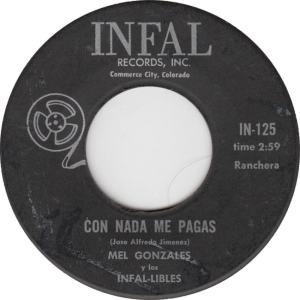 Infal 125 - Gonzales -Con Nada Me Pagas