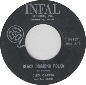INFAL 127 - GARCIA CLEM - BLACK DIAMOND POLKA