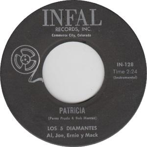 Infal 128 - Five Diamontes - Patricia