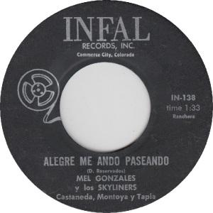 Infal 138 - Gonzalez, Mel & Skyliners - Alegre me Ando Paseando