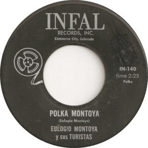 Infal 140 - Montoya, Eulogio - Polka Montoya
