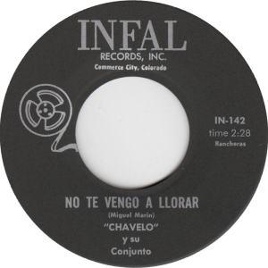 Infal 142 - Chavelo - No Te Vengo