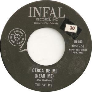 Infal 160 - Four M's - Cerca De Mi