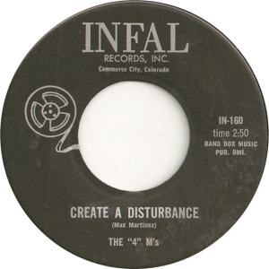 Infal 160 - Four M's - Create a Disturbance