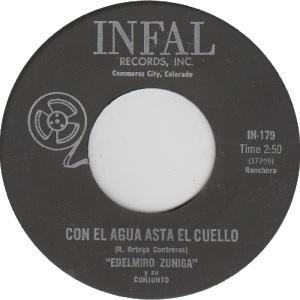 Infal 179 - Zuniga, Edelmiro - Con El Agua El Cuello
