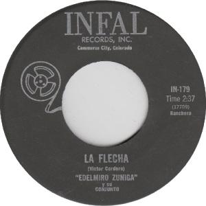 Infal 179 - Zuniga, Edelmiro - La Flecha